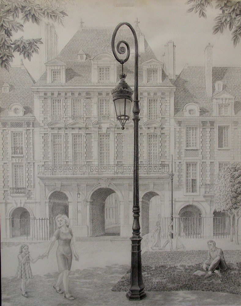 Place des Vosges,