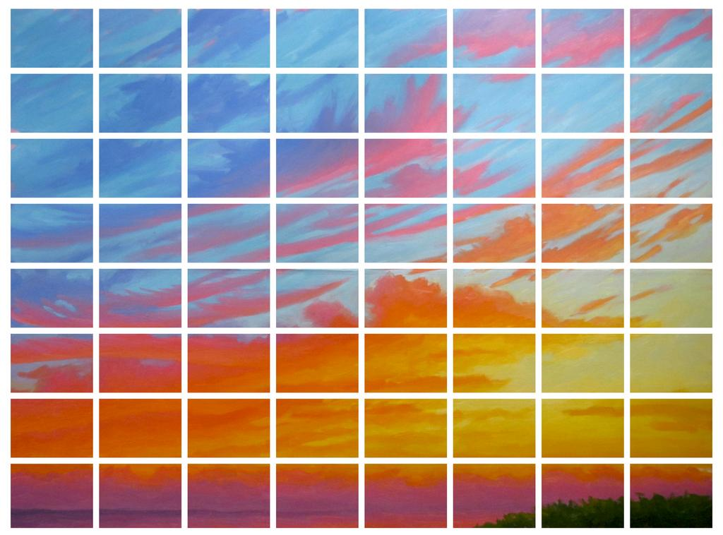 The Fleeting Beauty of Life; Pompano Sunrise