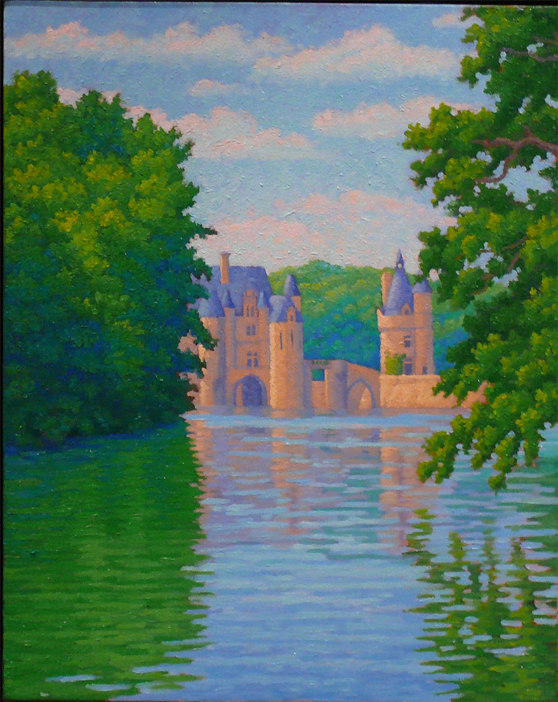 Princess Complex # 1, Chenonceau, France oil/canvas, 16 x 0 inches