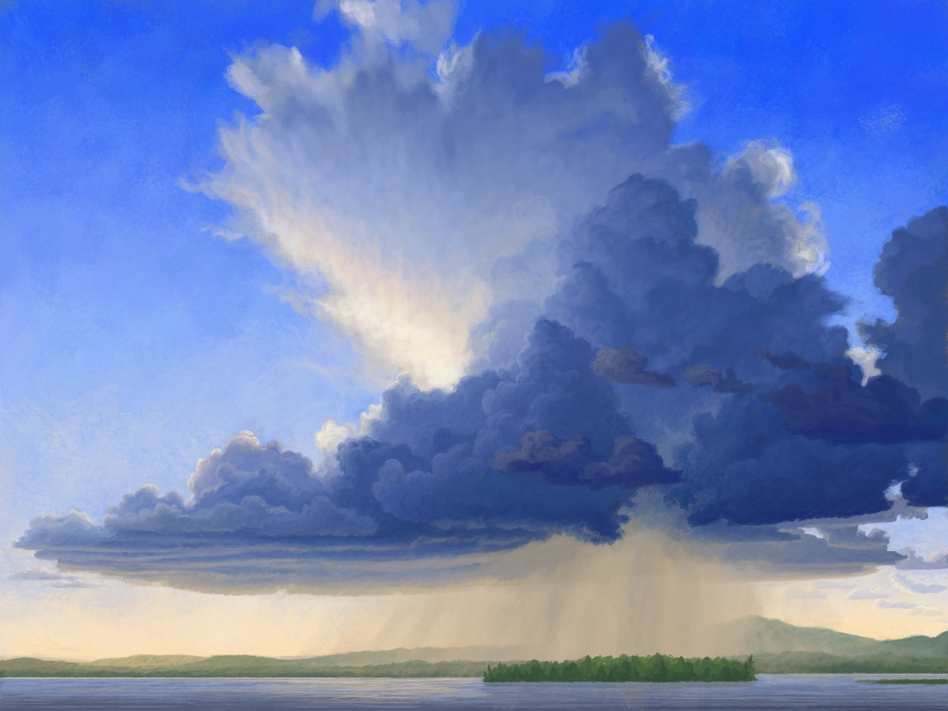 The Storm is coming: Lake Brome