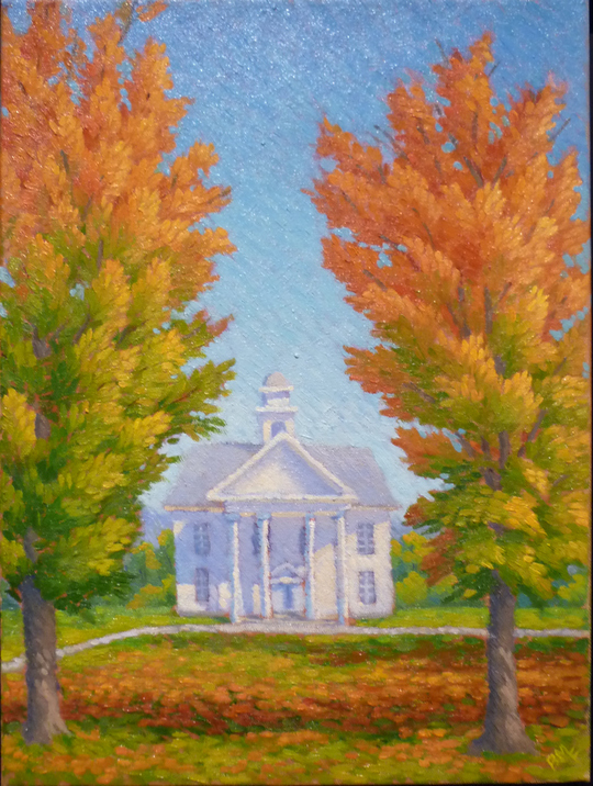 Autumn Scherzo,12x16 oil-private collection