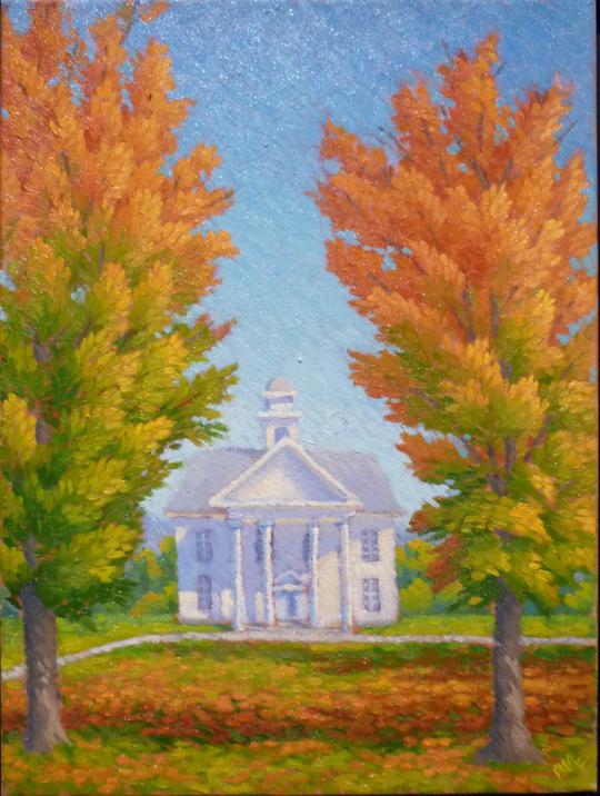 Autumn Scherzo,12x16 oil-private collection