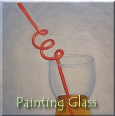 Painting Glass in Oil